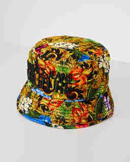 Kolorowy kapelusz z logo