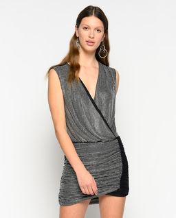 Sukienka mini z jetami