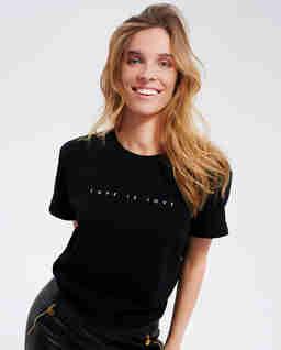 Czarny t-shirt Neti - EDYCJA LIMITOWANA