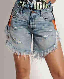 Jeansowe spodenki Frankies