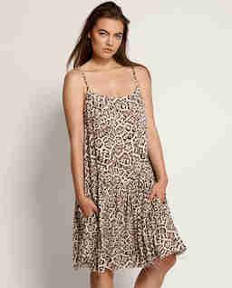 Šaty s levhartím vzorem