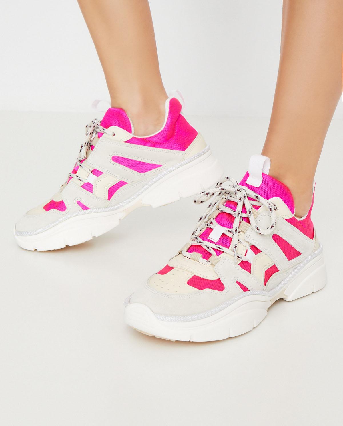Rozowe Sneakersy Kindsay Isabel Marant Cena I Opinie Sklep Internetowy Moliera2 Com