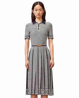 Sukienka polo ze wzorem