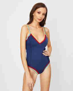 Jednoczęściowy strój kąpielowy Tasmin