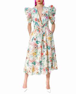 Sukienka w kwiaty midi Alta Spring