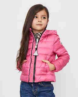 Różowa kurtka puchowa 4-12 lat