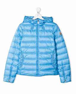 Niebieska kurtka z kapturem 4-14 lat