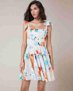 Sukienka na ramiączkach Leah
