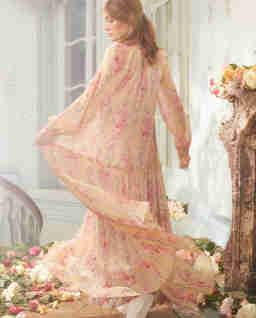 Dlouhé květinové šaty Ruby Bloom