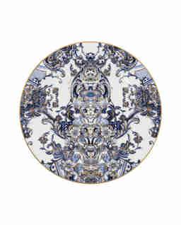 Porcelanowy talerz deserowy Azulejos