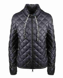 Czarna kurtka pikowana Lan