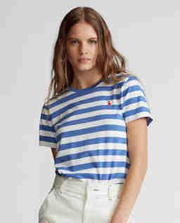 Bawełniana koszulka w paski