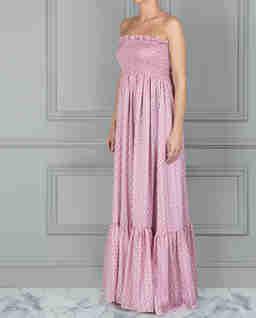 Sukienka maxi Luella z wycięciem z tyłu