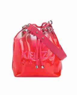 Czerwona torebka Kombo Bucket