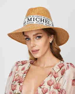 Beżowy kapelusz Kate