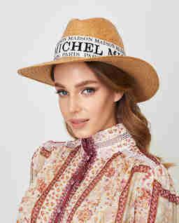 Beżowy kapelusz Zango
