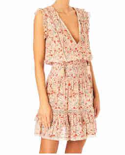 Sukienka w kwiatowy wzór Kelby