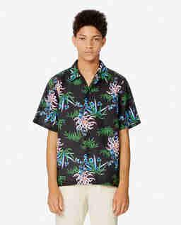 Koszula w lilie wodne