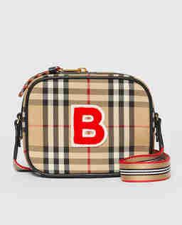Beżowa torebka Camera Bag