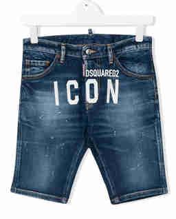 Jeansowe spodenki z nadrukiem 4-16 lat