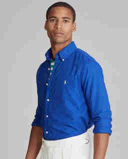 Niebieska koszula Classic Fit