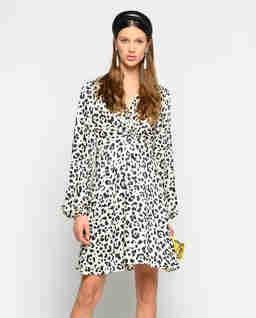 Sukienka z motywem zwierzęcym Frappe