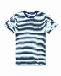 T-shirt w paski Slim Fit