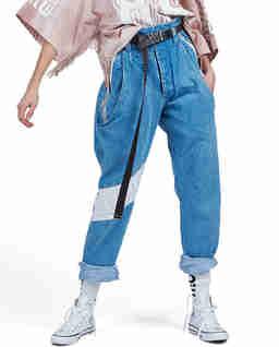 Spodnie jeansowe 89 LOGO