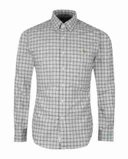 Flanelowa koszula w kratę Slim Fit
