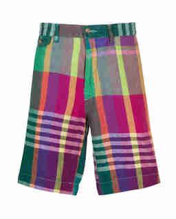 Kolorowe szorty Bermudy