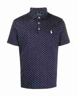 Koszulka polo we wzór Slim Fit