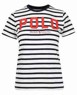 Bavlněné pruhované tričko