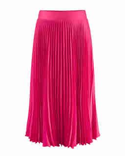Plisowana spódnica Lang w kolorze różowym