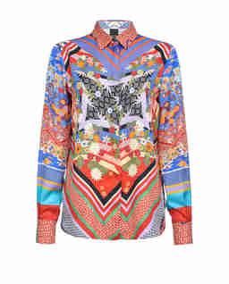 Kolorowa koszula z printem Casper 1