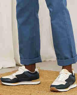 Zamszowe sneakersy Lyon