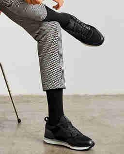 Skórzane sneakersy Nice