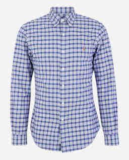 Koszula w kratę Oxford Slim Fit