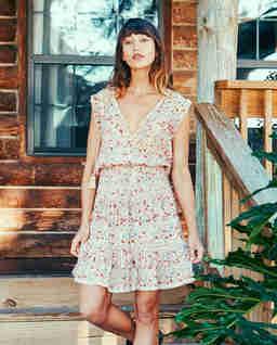 Šaty s květinovým vzorem Kelby