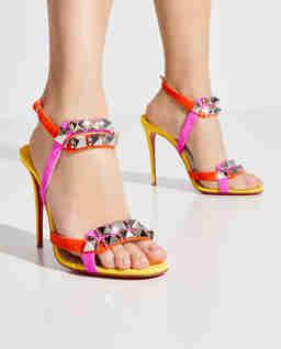 Sandały na szpilce Galerietta