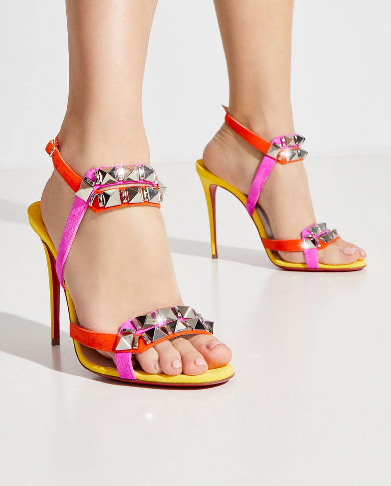 Sandały na szpilce Galerietta Christian Louboutin