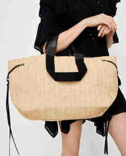 Słomiana torba Bagya