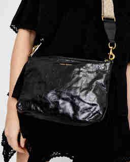 Czarna torebka Nessah