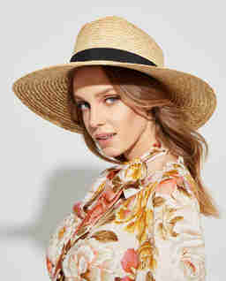 Słomiany kapelusz Savannah