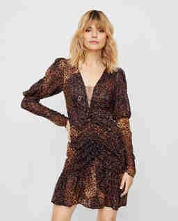 Sukienka z bufkami Vent