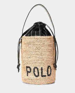 Pleciona torebka z rafii Mini Bucket