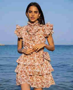 Sukienka w kwiaty Kyra