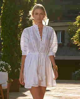 Biała sukienka mini Rita