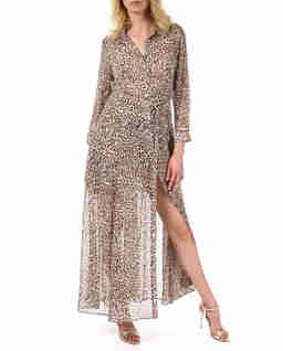 Sukienka w panterkę Jane