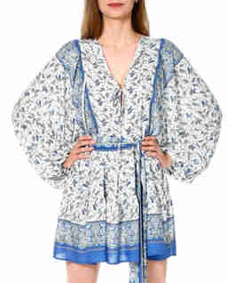 Sukienka we wzory Eunika