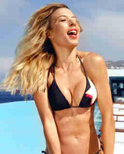 Dwustronny top od bikini Gia
